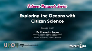 Exploring the Oceans with Citizen Science | Dr. Frederico Lauro