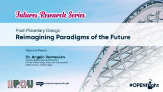 Post-Planetary Design: Reimagining Paradigms of the Future | Dr. Angelo Vermeulen