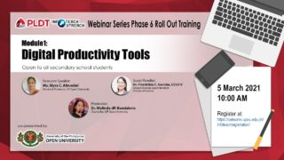 Infoteach: Module 1: Digital Productivity Tools