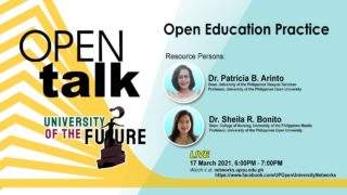 OPEN Talk Episode 2: Open Education Practice