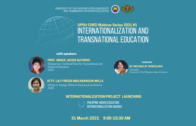 UPOU-CHED Webinar Series 2021 #1: Internationalization and Transnational Education