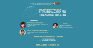 UPOU-CHED Webinar Series 2021 #1: Internationalization and Transnational Education