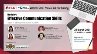 Infoteach: Module 4: Effective Communication Skills