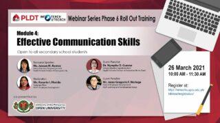 Infoteach: Module 4: Effective Communication Skills