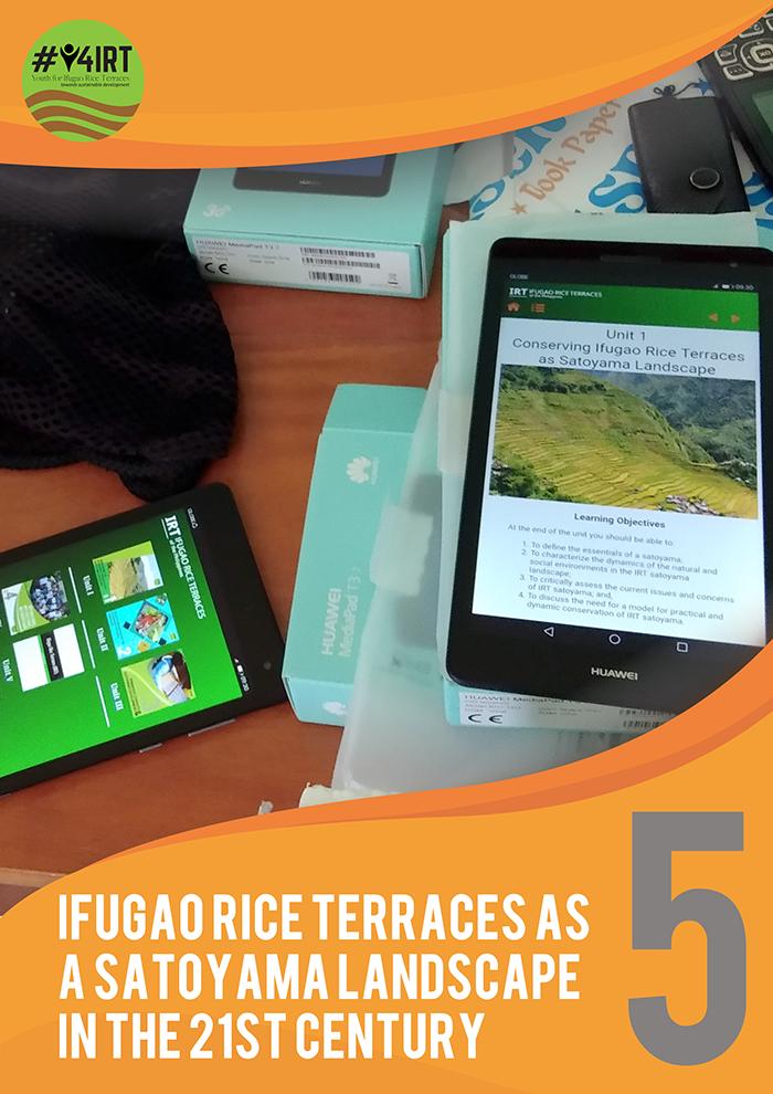 Ifugao Rice Terraces as a Satoyama Landscape in the 21st Century