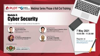 Infoteach: Module 8: Cyber Security