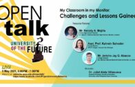 OPEN Talk – My Classroom in my Monitor: Challenges and Lessons Gained