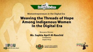 Weaving the Threads of Hope Among Indigenous Women in the Digital Era | Ms. Saphia April Al-Raschid