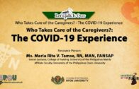 My COVID-19 Journey   Mr. John Alex Melencio, RN