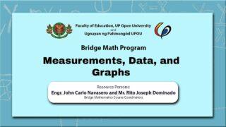 Measurements, Data, and Graphs | Engr. John Carlo Navasero and Mr. Rito Joseph Dominado