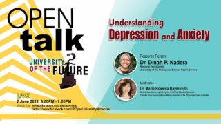 OPEN Talk: Understanding Depression and Anxiety