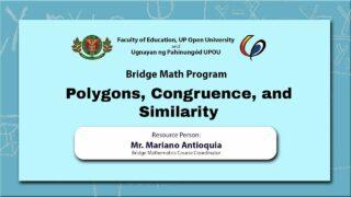 Polygons, Congruence, and Similarity | Mr. Mariano Antioquia