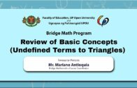 Undefined Terms | Mr. Mariano Antioquia