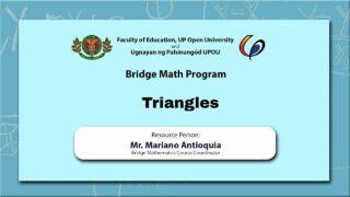 Triangles | Mr. Mariano Antioquia