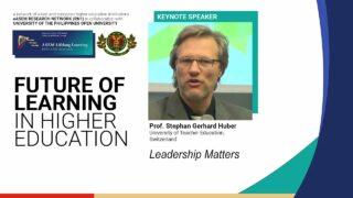 Leadership Matters | Prof.  Stephan Gerhard Huber