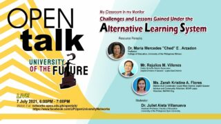 OPEN Talk - My Classroom in my Monitor: Challenges and Lessons Gained Under the Alternative Learning System