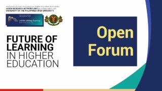 Future of Learning in Higher Education: Open Forum