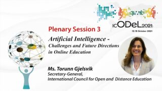 Artificial Intelligence - Challenges and Future Directions in Online Education | Ms. Torunn Gjelsvik